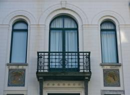 Кованые французские балконы Воронеж №30