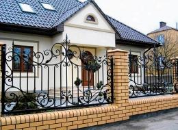 Кованые ворота Воронеж №62