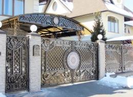 Кованые ворота Воронеж №226