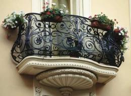 Кованые балконы Воронеж №39
