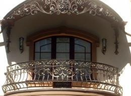 Кованые французские балконы Воронеж №35