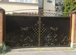 Кованые ворота Воронеж №229