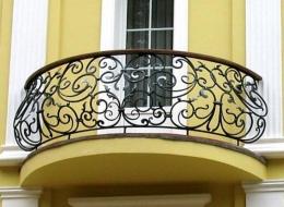 Кованые балконы Воронеж №45