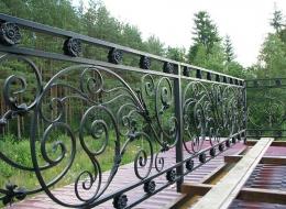 Кованые балконы Воронеж №60