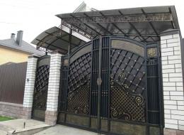 Кованые ворота Воронеж №230