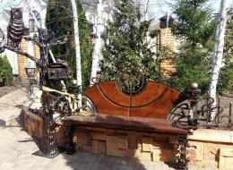 Кованые лавочки и скамейки Воронеж №30