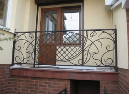 Кованые балконы Воронеж №35