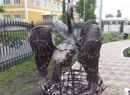 Кованые скульптуры Воронеж №5