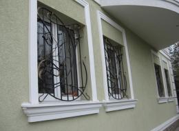 Кованые решетки на окна Воронеж №3