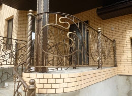 Кованые балконы Воронеж №43