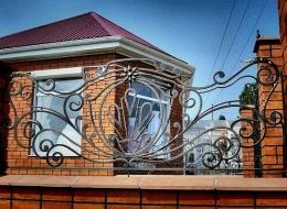 Кованые ворота Воронеж №34