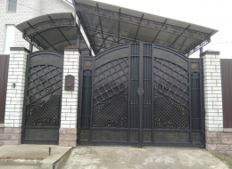 Кованые ворота Воронеж №148