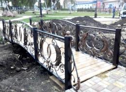 Кованые мостики Воронеж №7