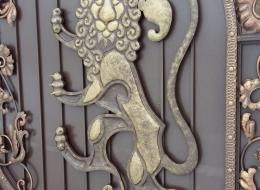 Кованые ворота Воронеж №159