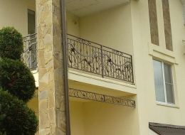 Кованые балконы Воронеж №78