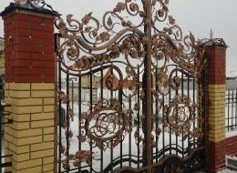 Кованые ворота Воронеж №242