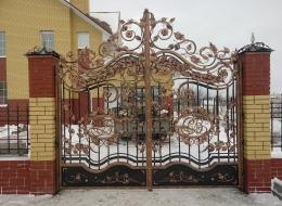 Кованые ворота Воронеж №93
