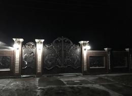 Кованые ворота Воронеж №243
