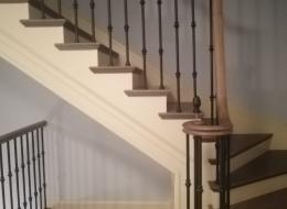 Чугунные лестничные ограждения 12