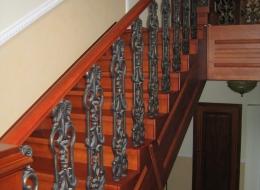 Чугунные лестничные ограждения 30