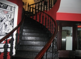 Чугунные лестничные ограждения 31
