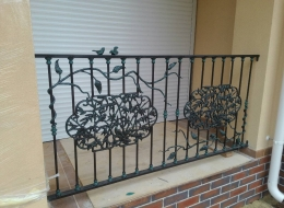 Кованые балконы Воронеж №55