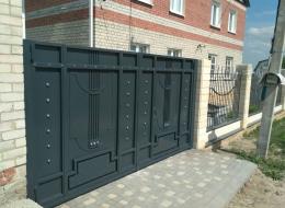 Кованые ворота Воронеж №152