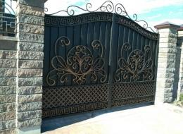 Кованые ворота Воронеж №174