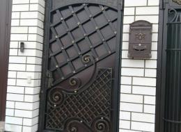 Кованые ворота Воронеж №149