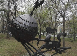 Кованые скульптуры, Арт объекты Воронеж №65