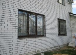 Кованые решетки на окна Воронеж №28