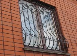 Кованые решетки на окна Воронеж №47