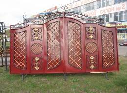 Кованые ворота Воронеж №232
