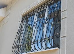 Кованые решетки на окна Воронеж №49