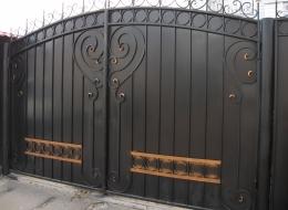 Кованые ворота Воронеж №233