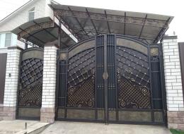 Кованые ворота Воронеж №86