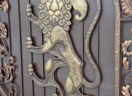 Кованые ворота Воронеж №157