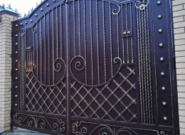 Кованые ворота Воронеж №88