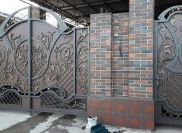 Кованые ворота Воронеж №90