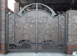 Кованые ворота Воронеж №91