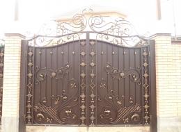 Кованые ворота Воронеж №92