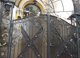 Кованые ворота Воронеж №236