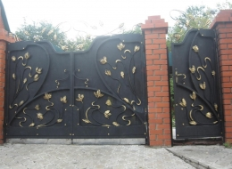 Кованые ворота Воронеж №237