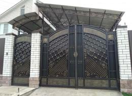 Кованые ворота Воронеж №240