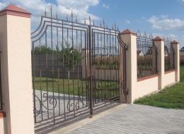 Кованые ворота Воронеж №241