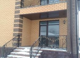 Кованые перила для крыльца на улице Воронеж №206