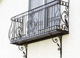 Кованые французские балконы Воронеж №39
