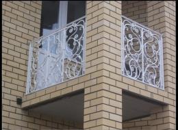 Кованые французские балконы Воронеж №40