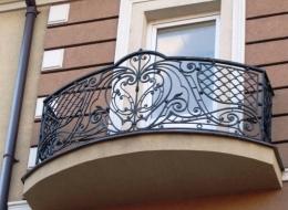 Кованые французские балконы Воронеж №41