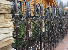 Кованые ворота Воронеж №63